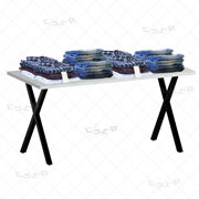 XMA Table for Merchandise Display