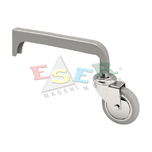 4420 ELLIPSE ALUMINIUM PROFILE WITH CASTORS (Double Slotted) Double Sided