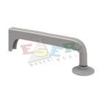 4420 ELLIPSE ALUMINIUM PROFILE WITH GLIDE (Double Slotted) Double Sided