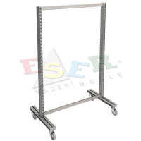 4420 TS-1 Gondola Frame (Double Sided) With Castors