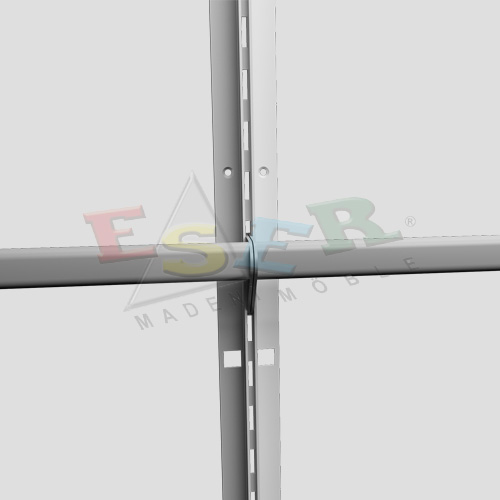 4430 PANEL ALUMINIUM PROFILE (Single Slotted)