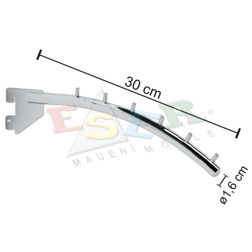 B10-P Front Arm Curved