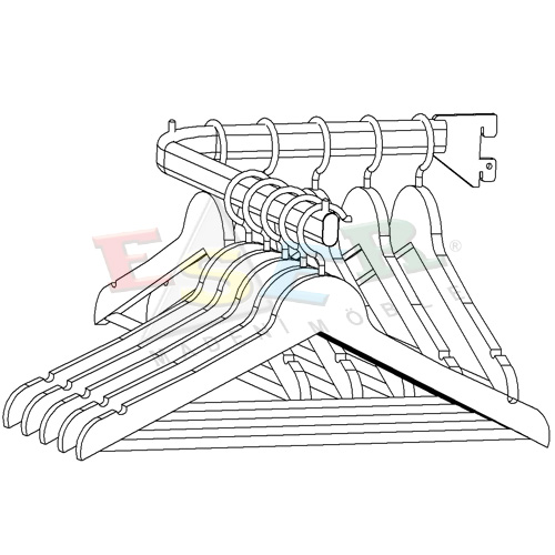 B6-P Front L Shape Arm Straight