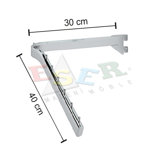 B7-P Front L Shape Arm Sloping