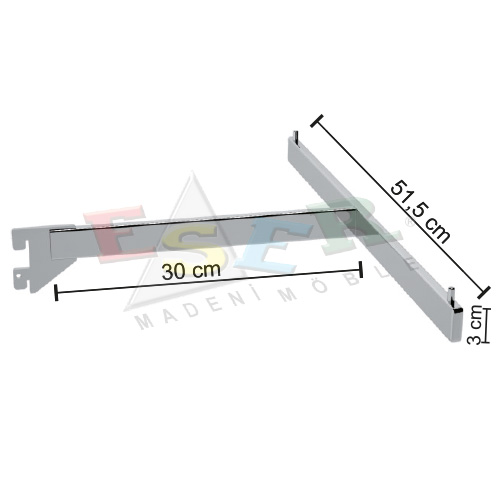 BD13-P Side Hanging Rail (T - Arm)