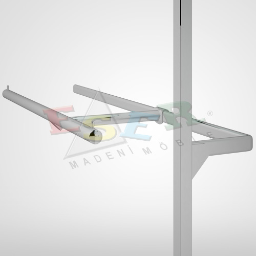 BD14-A Side Hanging Rail (T - Arm)