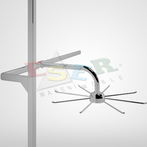 BD9-A Rotating Hanging Arm for Hanging Rail