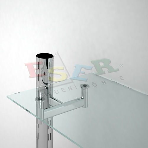 CK-2 Bracket for Glass Shelf