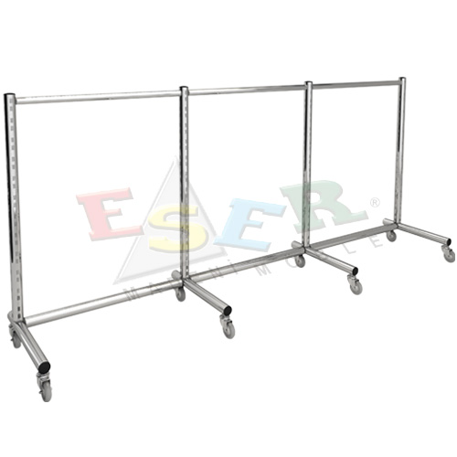 D1-L Gondola Frame (Single Sided) With Castors