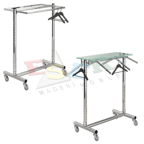 D1 TS-1 Gondola Frame (Double Sided) With Castors