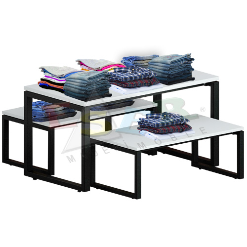 DMA 40 - 2 Table for Merchandise Display 120 x 55 cm h 52 cm