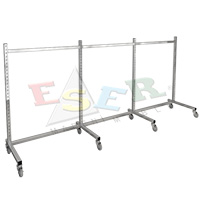 K2-L Gondola Frame (Single Sided) With Castors