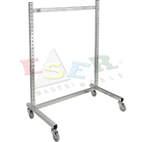 K2 LS-1-L Gondola Frame (Single Sided) With Castors