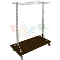 K2 TOSA-1 Stand With U Shape Hanging Rail