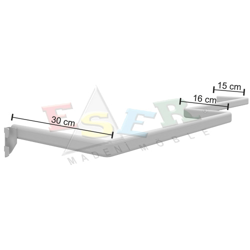 KUB-2 SOL U Shape Hanging Rail - Left