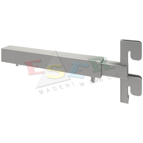 LDB-1 Adjustable Wall Fixing Bracket Set