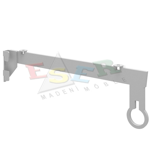 LMRK-4C Bracket for Side Hanging Rail and Glass Shelf