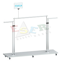 M-1005 Base Frame with Extension Side Hanging Rail and Arms