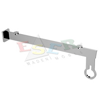 MRK-4C Bracket for Side Hanging Rail and Glass Shelf