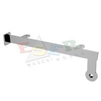 MRK-4K Bracket for Side Hanging Rail, Glass or Wooden Shelves