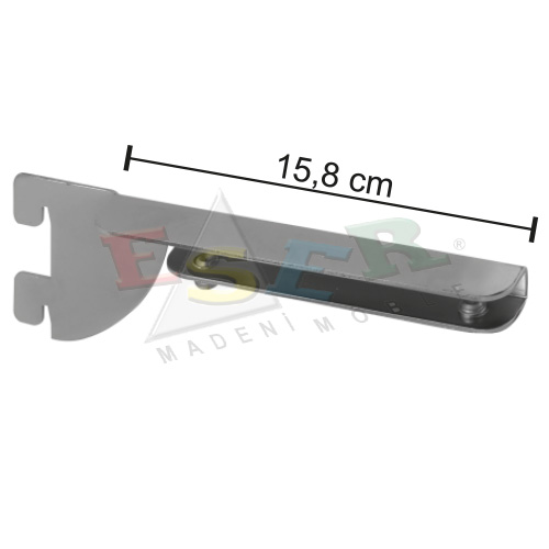 PRK-3-C Bracket for Glass Shelf