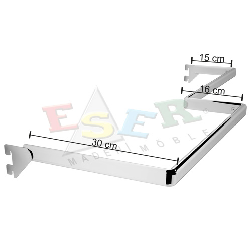 UB-2 SOL U Shape Hanging Rail - Left